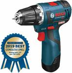 Bosch 12-Volt Max Brushless 3/8-Inch Drill/Driver Kit PS32-02 with Accessories $158.86 + Delivery (Free w/ Prime) @ Amazon US