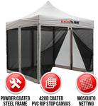 KICKASS 3x3m Camping Gazebo with Mesh Mosquito Netting Walls $95 + Shipping @ Australian Direct