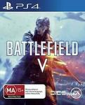 [PS4/XB1]  Battlefield V - $14.25, [PS4] Wolfenstein 2 - $14.25 + Delivery ($0 with eBay Plus) @ Shopping Square eBay