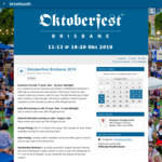 [QLD] Oktoberfest Brisbane - Buy One Friday Ticket and Get One Free, Save $26 @ Ticketbooth