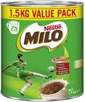 Nestle Milo 1.5kg $12.90 + Delivery ($0 with Prime/ $39 Spend) @ Amazon AU