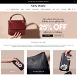 25% off Eligible Items @ Mon Purse