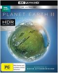 Planet Earth II (4K Ultra HD) $13.60 + Delivery ($0 with Prime/ $39 Spend) @ Amazon AU