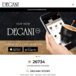 $4 off Any Online Order over $8, 14/2 @ Degani (via App)