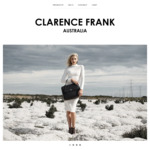 MOTHER'S DAY Sale - All Handbags & Wallets 60% off with Free Aus Postage @ Clarence Frank Australia