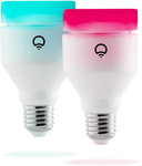LIFX A60 (Smart Bulbs) Twin Pack - $99 Delivered (Was $179) @ LIFX