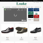 20% off Entire Order: Goodyear Welted Full Leather Shoes from $159 + Shipping (Free Shipping over $200) @ Loakes Shoes