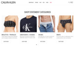 40% off Sitewide (Exclusions Apply & Includes Already Reduced Styles) + Extra 10% off with Free VIP Program @ Calvin Klein