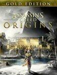 [PC, Uplay] Assassins Creed Origins Gold Edition $26.99 @ Ubisoft