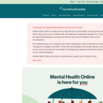 Free 12-Week Mental Health Treatment Programs @ Mental Health Online
