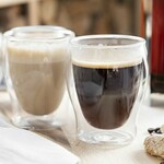 Double Wall Coffee Glasses 2x110ml from $11.97 (40% off) + Delivery (Inc over $69) or Pickup @ Wheel&Barrow