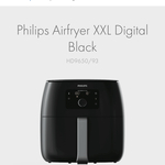 Philips Airfryer XXL Digital Black HD9650/93 $406 ($356 after Philips Cashback) @ The Good Guys Commercial (Membership Required)