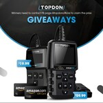 Win an Amazon Gift Card & TOPDON OBD2 Scanner Worth $700 from TOPDON