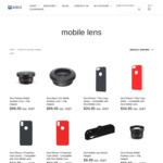 SIRUI Mobile Lenses + iPhone Cases 50% off + Shipping (Free with $49 Spend) @ SIRUI Australia