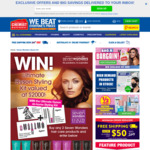 Win Dyson at-Home Styling Kit Valued at $2000 from Seven Wonders and Chemist Warehouse