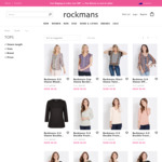 Women's Tops for $8 (Over 200 Styles) @ Rockmans