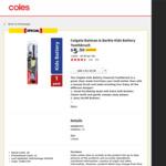 Colgate Batman & Barbie Kids Battery Toothbrush $5.50 @ Coles
