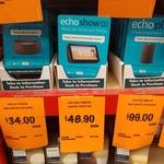 Amazon Echo Show 5 $48.90, Amazon Echo Plus 2nd Gen $99, Echo Dot Gen 3 $34 @ Bunnings
