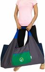 20% off Large Yoga Mat Bag with Sewn-in Velcro Straps, 4 Pockets $29.98 + Free Shipping Australia Wide @ JoYnWell