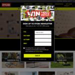 Win 1 of 3 Ryobi Tool Packs Worth $1,000 from Ryobi