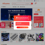 US$4 off US$5 Minimum Spend for New Social Media Users @ AliExpress