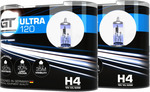 GT Ultra 120 H4/H7 (Twin) – Buy One Get One Free 4x Bulbs for $29.9 Delivered @ Power Bulbs