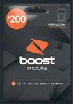 Boost Mobile $200 Prepaid Sim Pack (12 Months, 110GB Data) - $180 @ Coles
