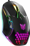 ONIKUMA Professional Gaming Mouse with RGB $18.89 + Delivery ($0 with Prime/ $39 Spend) @ Youngpioneer Amazon AU