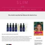 Win a Lavish Long Haul Spa Skincare Kit Valued at $129 from Slim Magazine