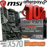[Afterpay] MSI MAG X570 TOMAHAWK Wi-Fi Motherboard $301.50 ($294.80 eBay Plus Member) Delivered @ gg.tech365 eBay