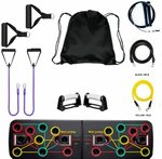 Complete Home Workout Kit with a Push Up Board, 3 Resistance Bands & Jump Rope $49.99 Delivered @ Worshopping via Amazon AU