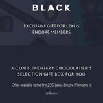 Free Koko Black Chocolate Gift Box for Lexus Encore Members
