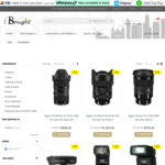 15% off Sigma, Sirui and Nisi Filters Store Range + Delivery @ iBought