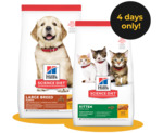 50% off Hill's Science Diet Dry Puppy and Kitten Food @ Petbarn