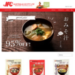 [VIC] Instant Miso Soup 3-pack $0.15 (95% off, Minimum $50 Order) + Delivery ($0 with $150 Spend) @ JFC Online