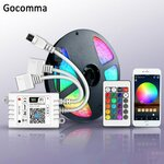 Wi-Fi Controller Color Music Voice Control LED Light Strip Controller, A$14.45/US$10.97, Delivered @GearBest