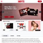 15% off Hoyts e-Gift Cards @Hoyts