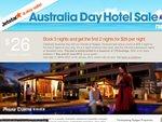 Jetstar - Rydges Hotel from $26/Night for 1st 2 Nights (3 Day Min) 3rd Night @ Standard Price