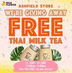 [NSW] Free Thai Milk Tea, Saturday-Monday (12/6-14/6) 12pm-5pm @ Milk Flower (Ashfield)