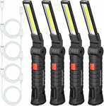 [Back Order] LED COB Rechargeable Light w/ Magnetic Base (4 Pack) $46.98 + $10.05 Post ($0 with Prime & $49 Spend) @ Amazon US