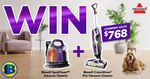 Win a Bissell Vacuum Cleaner Pack Valued at $768 with Bi-Rite Home Appliances