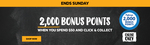 2000 Bonus Flybuys Points (Worth $10) with Minimum $50 Click & Collect Order @ First Choice Liquor