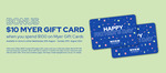 $10 Bonus Myer Gift Card with $100 Myer Gift Card Purchase @ Myer