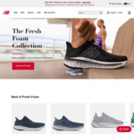 30% off Full Price Products + $10 Delivery ($0 with $100 Order) @ New Balance