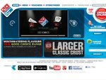 Dominos Traditional Pizzas Friday (Today) - $5.95 before 4pm & $6.95 after 4pm