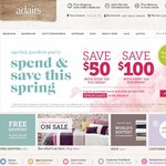 Adairs Linen Lovers Spend and Save Event