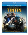 The Adventures of Tintin (Two-Disc Blu-Ray/DVD Combo + Digital Copy) for $8.96 + Shipping