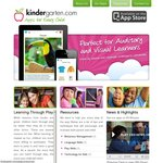 Kindergarten.com: All iOS Apps Free during The Month of April (Autism Awarness Month)