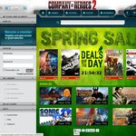 [Gamersgate] Spring sale - S.T.A.L.K.E.R. Collection $12.00 USD, Sonic Collection $30.00 USD