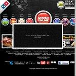 Domino's 3 Pizza Garlic Bread 1.25 Coke $25 Delivered. Possible +1 Extra Free Pizza Too